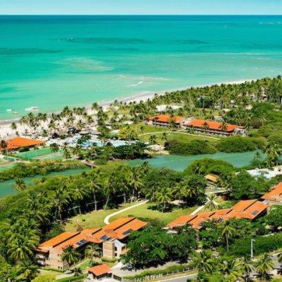 O Resort All Inclusive mais bem avaliado do Brasil