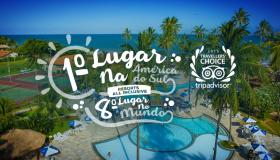 O Resort mais bem avaliado da América do Sul