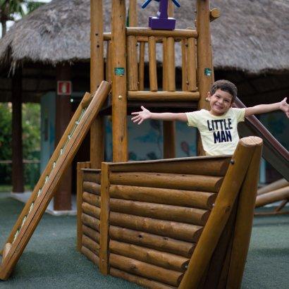 estrutura para crianças resort salinas