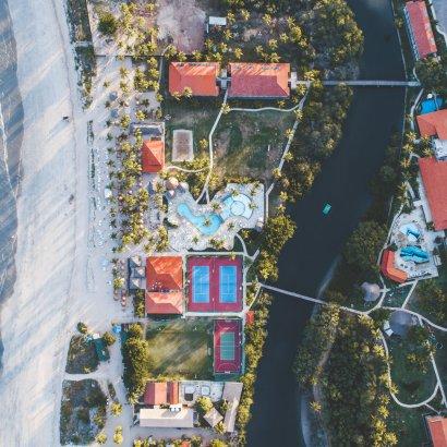 Resort Salinas aéreo