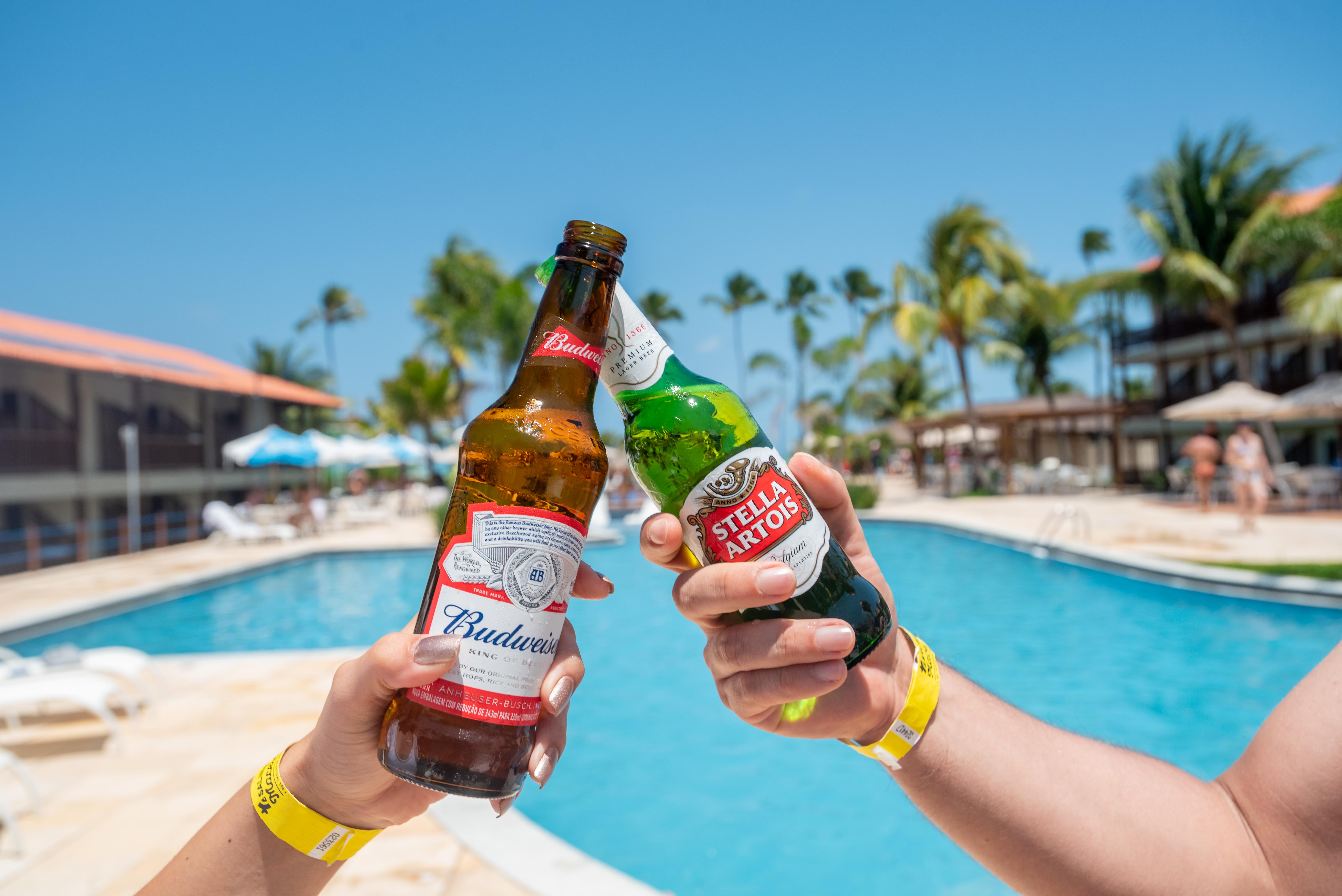 Budweiser e Stella Artois